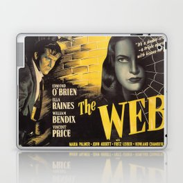The Web, vintage horror movie poster Laptop & iPad Skin