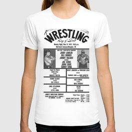 #7 Memphis Wrestling Window Card T-shirt
