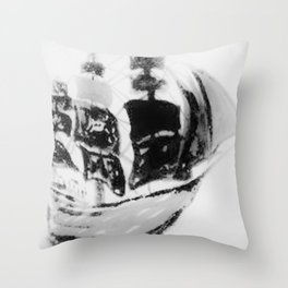 Clipper Ship Throw Pillow