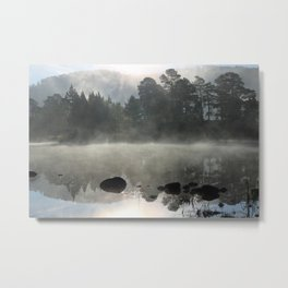 In the pale blue light Metal Print
