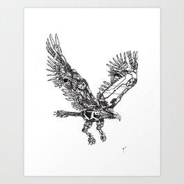 Intel Eagle Art Print
