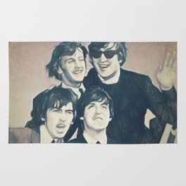 Beatle - John, Paul, George, and Ringo Rug