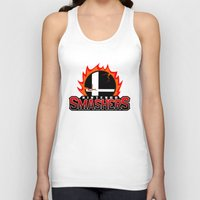 nintendo Tank Tops featuring Nintendo Smashers by Alecxps