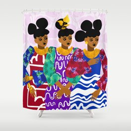 Heiresses Shower Curtain