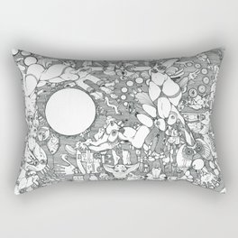 So much to do; So little time Rectangular Pillow