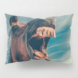 Horse smile Pillow Sham
