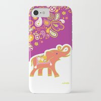 india iPhone & iPod Cases featuring India by ASerpico Designs