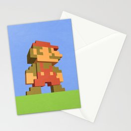 Mario NES nostalgia Stationery Cards