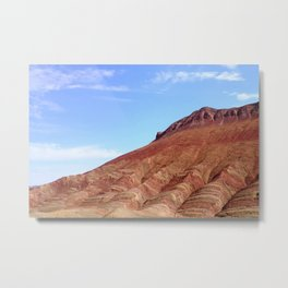 colorful mineral mountain photography 2 Metal Print