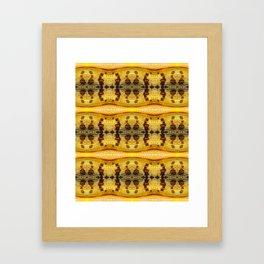 Yellow Locust Framed Art Print