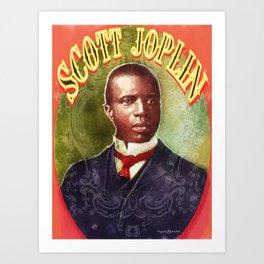 Scott Joplin Art Print