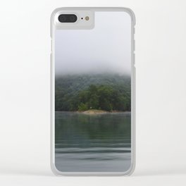 6am Ski Time Clear iPhone Case