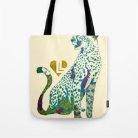 cheetah Tote Bags featuring Cheetah by Danny Haas