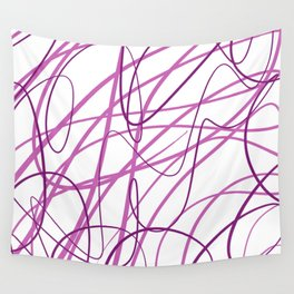 Purple Scatter Wall Tapestry