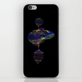 Fabric of Light IV iPhone Skin