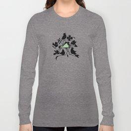 Virginia - State Papercut Print Long Sleeve T-shirt