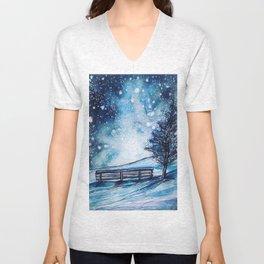 Watch the stars Unisex V-Neck