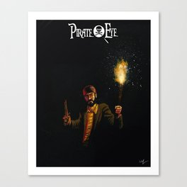 Pirate Eye In Search of Treasure Canvas Print
