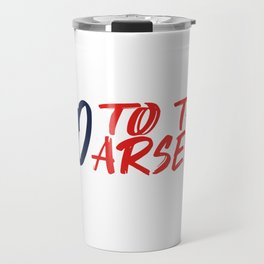 Arsenal - Football Chant Travel Mug