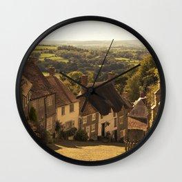 Golden Hill Wall Clock