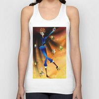hetalia Tank Tops featuring Where The Crazy Is by InsianCat