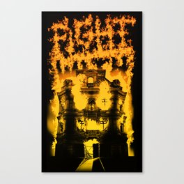 Fight with fire Canvas Print