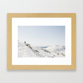 Australian Snow Framed Art Print