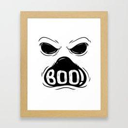 GHOST BOO Framed Art Print