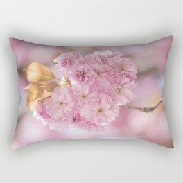 Japanese Cherry Blossom in LOVE Rectangular Pillow