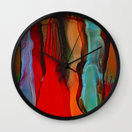 Desert Sentinels Wall Clock