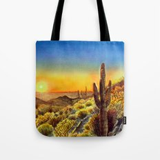 Arizona's Sunset Tote Bag