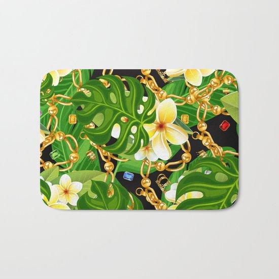 tropical elegant  Bath Mat