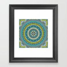 Hippie Mandala 2 Framed Art Print