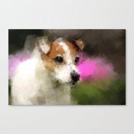 Margo in Forest Hill Garden Canvas Print