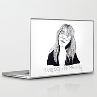 florence Laptop & iPad Skins featuring Florence by ☿ cactei ☿