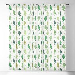 Run Forest Run Pattern Blackout Curtain
