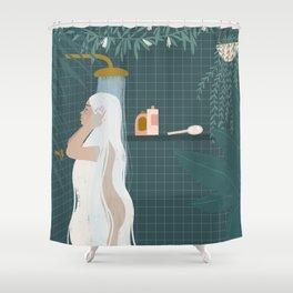 shower goals Shower Curtain
