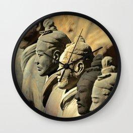 Chinese Terracotta Warriors Wall Clock