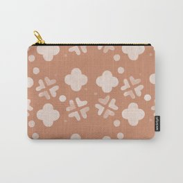 Hugs And Kisses Peach Carry-All Pouch