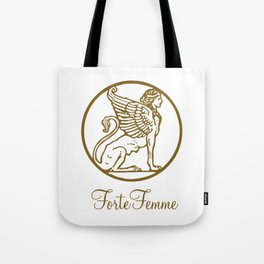 ForteFemme Sphynx with event name Tote Bag