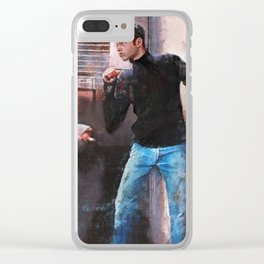 If You Want Blood (empire records) Clear iPhone Case
