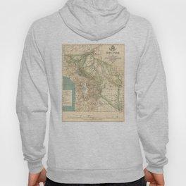 Vintage Map of Bolivia (1905) Hoody