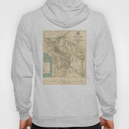 Vintage Map of Bolivia (1905) Hoody