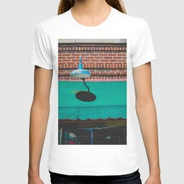 Outdoor Lighting and Awning Short North Arts District Ohio T-shirt