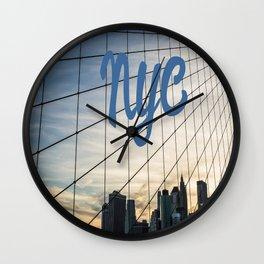 Brooklyn Web II Wall Clock