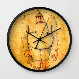Ode to The Toy Eater Wall Clock