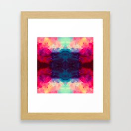 Reassurance Rorschach  Framed Art Print