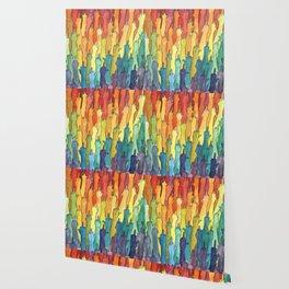 fuck-off in rainbow power Wallpaper