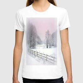 Winter road T-shirt