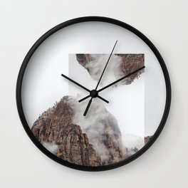 Vis-à-vis Wall Clock